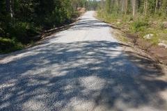Metsäautotien perus parannus